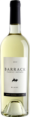 2019 Barrack Family Blanc